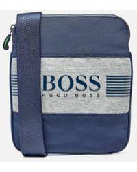BOSS Green - Men's Pixel J Cross Body Bag - Lyst