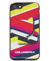 Karl Lagerfeld - Women's K/stripes Phone Case - Lyst