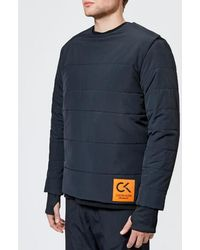 81bbc4375fff Calvin Klein - Men s Padded Long Sleeve Top - Lyst