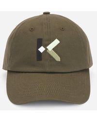 KENZO K-logo Cap - Green