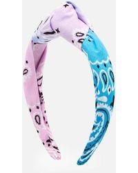 ARIZONA LOVE Bandana Headband - Blue