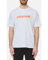 Versus Neon Logo T-shirt - White
