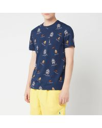 Polo Ralph Lauren Multi Bear T-shirt - Blue