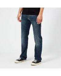 Emporio Armani 5 Pocket Slim Denim Jeans - Blue