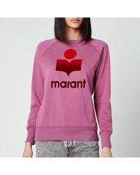 Étoile Isabel Marant Milly Sweatshirt - Pink
