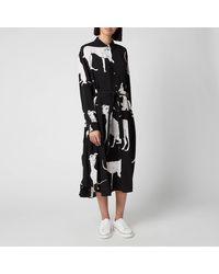 PS by Paul Smith Dog Print Dress - Black