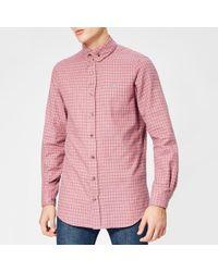 Vivienne Westwood - Men's Tartan Viyella 2 Button Krall Shirt - Lyst