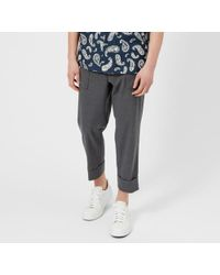 Wooyoungmi - Men's Cropped Patch Pocket Trousers - Lyst