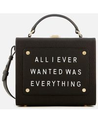 meli melo - Women's Art Bag With Text - Lyst