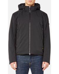 BOSS Green Jadd Zipped Jacket - Black