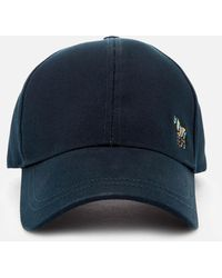 PS by Paul Smith Ps By Paul Smith Zebra Baseball Hat - Blue