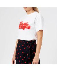 Ganni Harris T-shirt - White