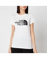 The North Face Easy Short Sleeve T-shirt - White