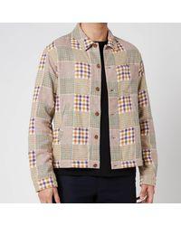 YMC Griffon Check Flannel Bowling Shirt - Multicolour