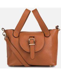 meli melo Mini Thela Tote Bag - Brown