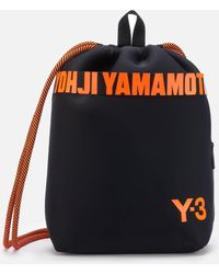 Y-3 Drawstring Backpack - Multicolour