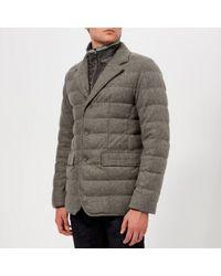 Herno - Men's Wool Padded Blazer - Lyst