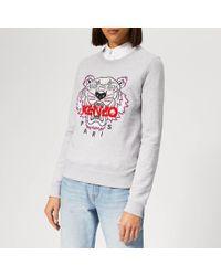 KENZO Tiger Classic Sweatshirt - Gray