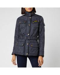 Barbour Polarquilt Jacket - Blue