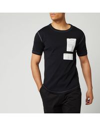 Helmut Lang Patch Logo Base Layer T-shirt - Black