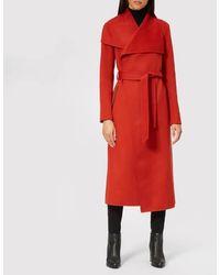 Mackage - Women's Mai Long Wrap Coat - Lyst