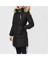 Parajumpers Long Bear Coat - Black