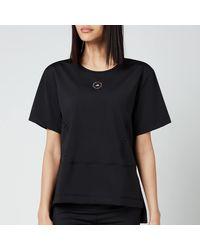 adidas By Stella McCartney Truestrength Loose T-shirt - Black