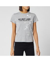 Helmut Lang Baby T-shirt Painter T-shirt - Gray
