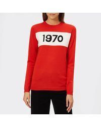 Bella Freud 1970 Merino Sweater - Black