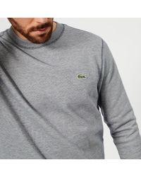 Lacoste - Crew Neck Sweatshirt - Lyst