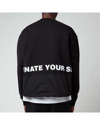DSquared² Leaf Sweatshirt - Black