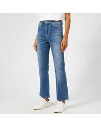 Victoria, Victoria Beckham Cali Jeans - Blue