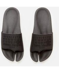 Maison Margiela Slide Sandals - Black