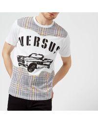 65f33317f Versus - Versus Logo T-shirt - Lyst