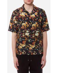 McQ - Men's Billy Floral Print Shirt - Lyst