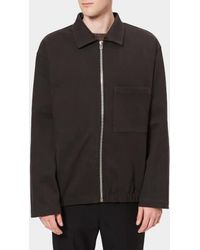 Lemaire - Men's Heavy Cotton Fleece Jersey Jacket - Lyst