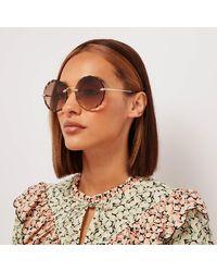 Chloé Scallop Edge Sunglasses - Multicolour