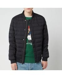 300d3e5e4 Lightweight Down Bomber Jacket - Black