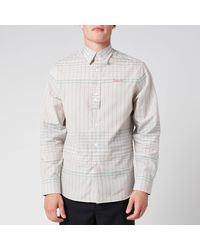 Lanvin Checkered Shirt - Blue