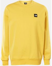 The North Face Masters Of Stone Crew Neck Sweatshirt - Yellow