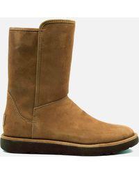 62fcfaa41094 UGG - Abree Short Ii Classic Luxe Sheepskin Boots - Lyst