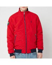 Polo Ralph Lauren Bomber Portage Jacket - Red
