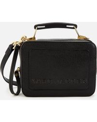 Marc Jacobs The Box 20 In Black Leather