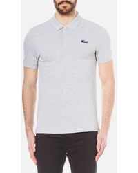 Lacoste | Men's Large Croc Logo Polo Shirt | Lyst