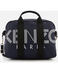 KENZO Sport Logo Weekend Bag - Multicolour
