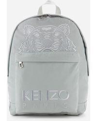 KENZO Kampus Canvas Backpack - Grey