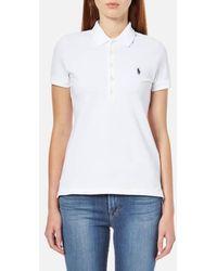 Polo Ralph Lauren - Women's Julie Polo Shirt - Lyst