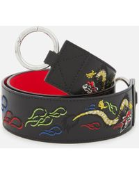 KENZO - Women's Dragon Embroidered Bag Strap - Lyst
