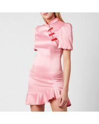 De La Vali Bluebell Dress - Pink