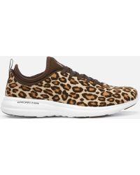 Athletic Propulsion Labs Phantom Calf Hair Sneakers - Brown